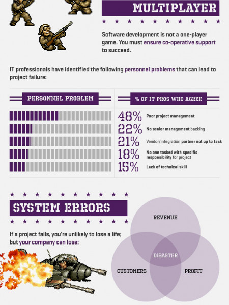 A Guide To Preventing Software Project Failure  Infographic