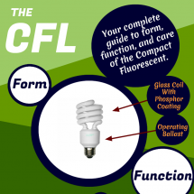 A Guide To The Compact Fluorescent Infographic