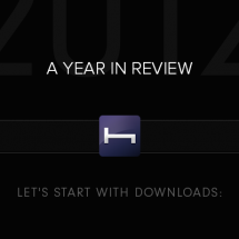 A HotelTonight Year in Review Infographic