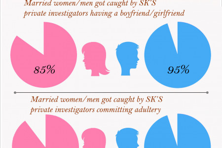 A leading private detective  discloses statistical information Infographic