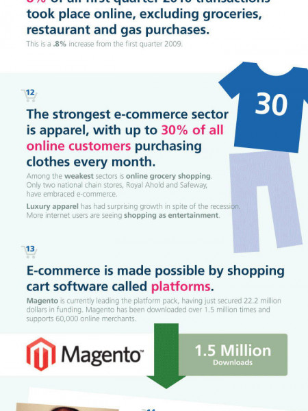 A Look At eCommerce Infographic