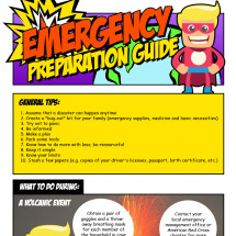 A PREPPERS GUIDE FOR EVERY EMERGENCY IMAGINABLE Infographic