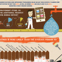 A Profile: The DIY Consumer  Infographic