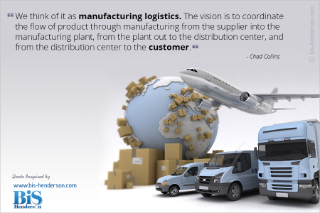 A Quotographic on Logistics Infographic