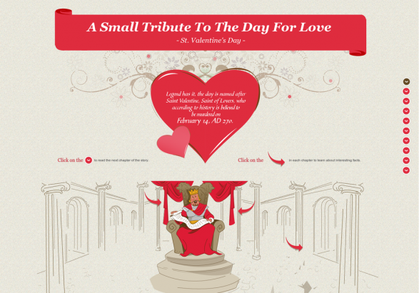 A Small Tribute To The Day For Love - St. Valentine
