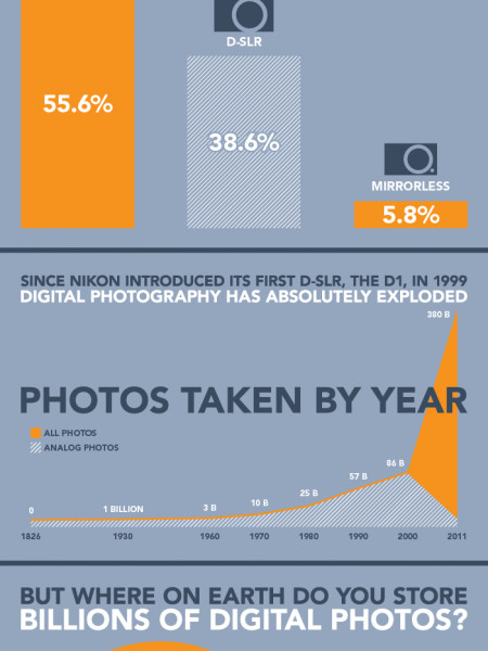 A Snapshot of Digital Photography in the US Infographic