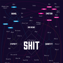A Taxonomy of Sh*t Infographic