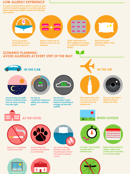 A Travelers Guide to Avoiding Allergies Infographic