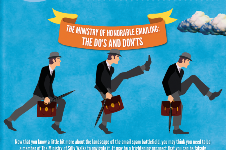 A Very Monty Python Guide to Email Spam Filters and Blacklists Infographic