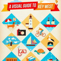 A Visual Guide to Key West Infographic