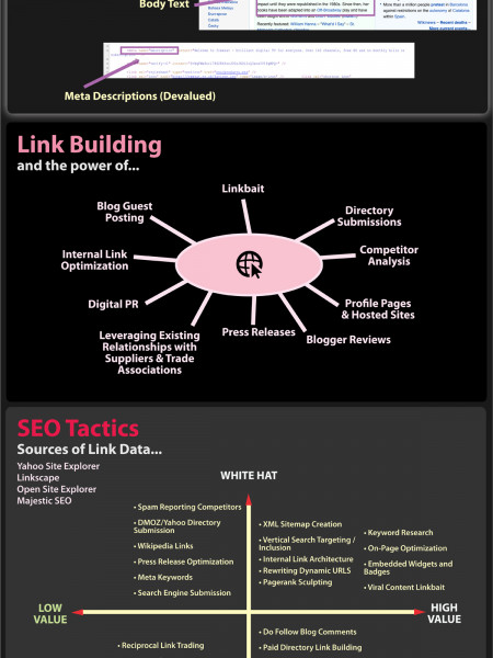 A Visual Guide to SEO Infographic