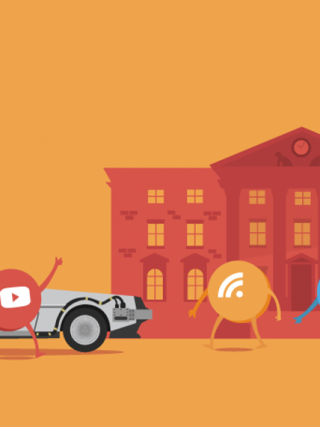 A Visual History Of Content Marketing [Infographic] Infographic
