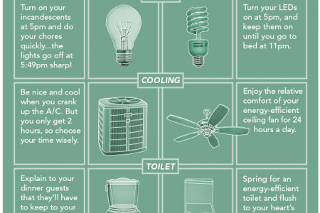 Ac ting Green vs. Buying Green Infographic