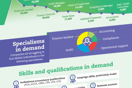 Accounting & Finance Careers in the UAE Infographic