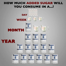 Added Sugar Over Time [INFOGRAPHIC] Infographic