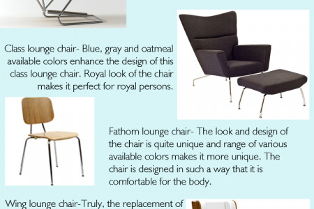 Affordable Lounge chairs- Perfect choice for your place Infographic