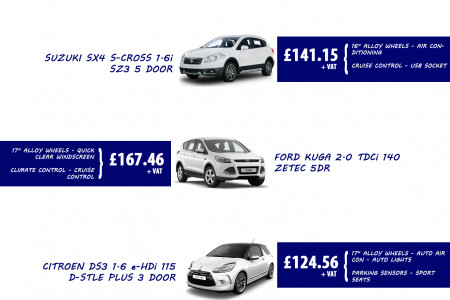 Affordable vehicle leasing deals in UK Infographic