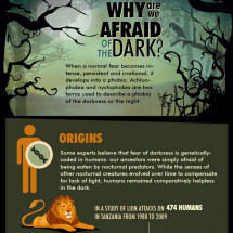 Afraid Of The Dark? Infographic