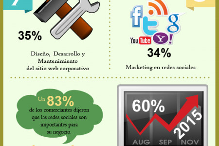 Agencia de Marketing Digital Infographic