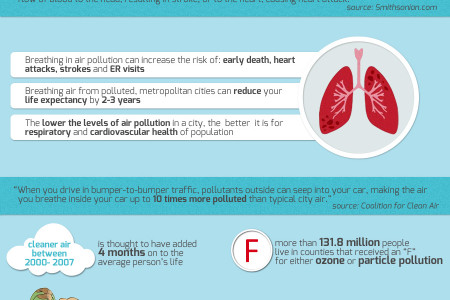 AIRING OUT THE TRUTHS OF AIR POLLUTION Infographic