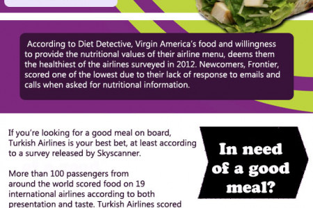 Airline Meals Exposed Infographic