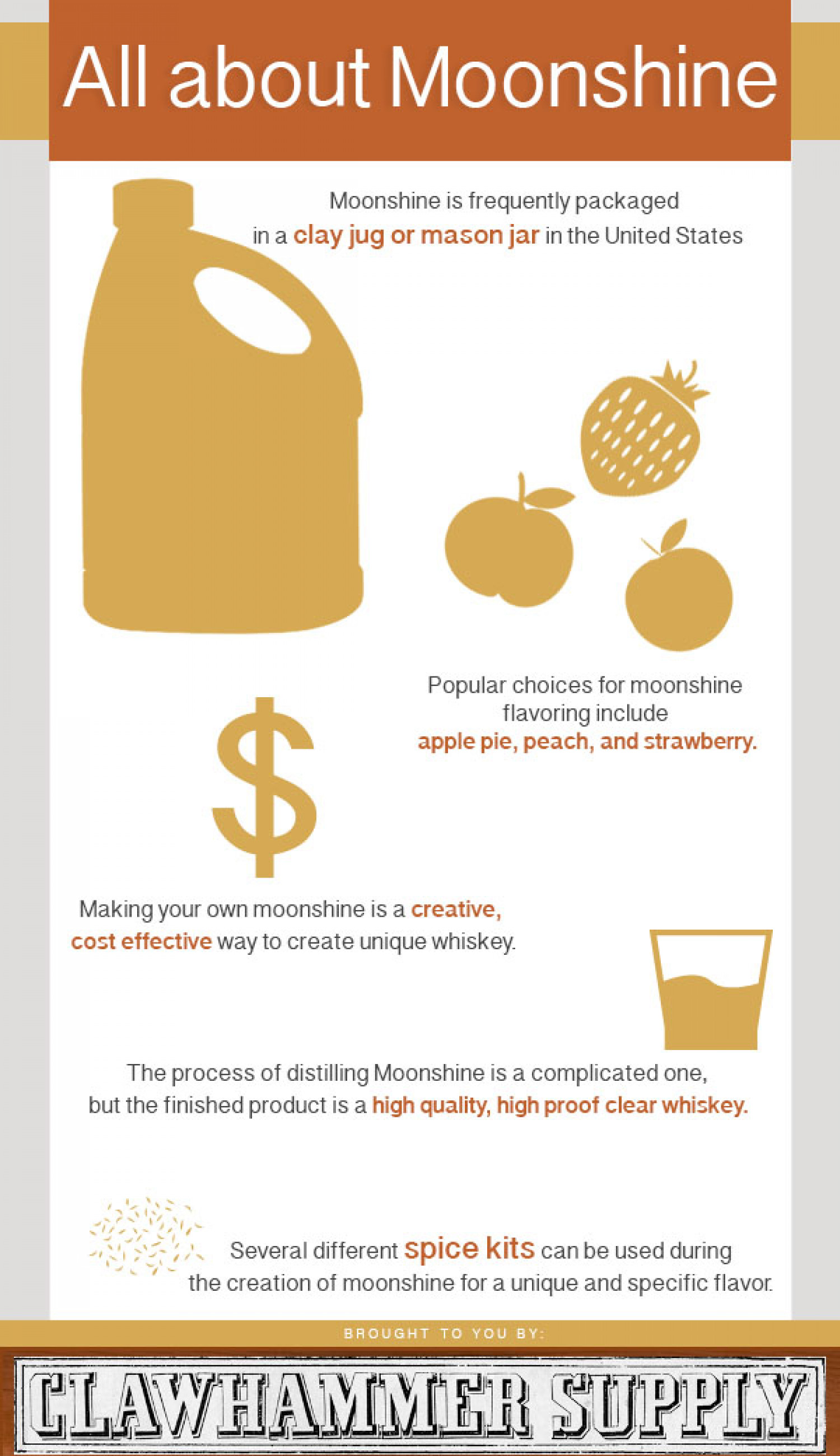 All About Moonshine Infographic
