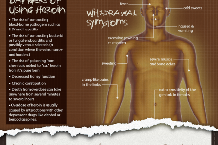 All There Is To Know About Heroin Infographic