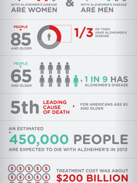 What is Alzheimer's Disease  Infographic