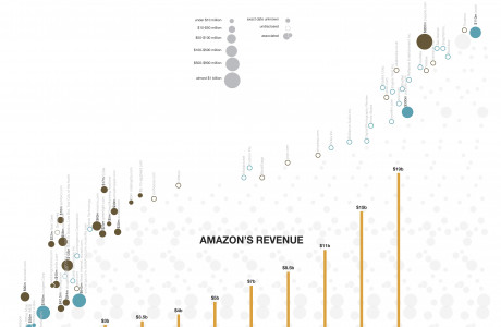 Amazon: Revenue and Mergers & Acquisitions