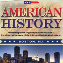 American History - Walk through history on vacation in these destinations Infographic