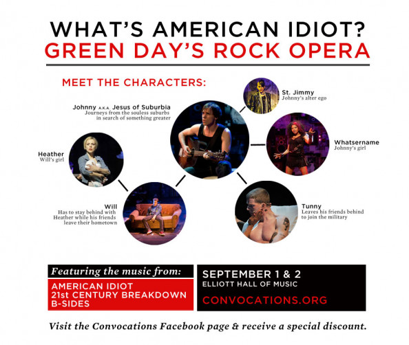 American Idiot-Meet the Characters Infographic