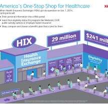 America's One-Stop Shop for Healthcare Infographic