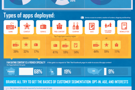 Analyzing Facebook Apps of Leading Brands Infographic