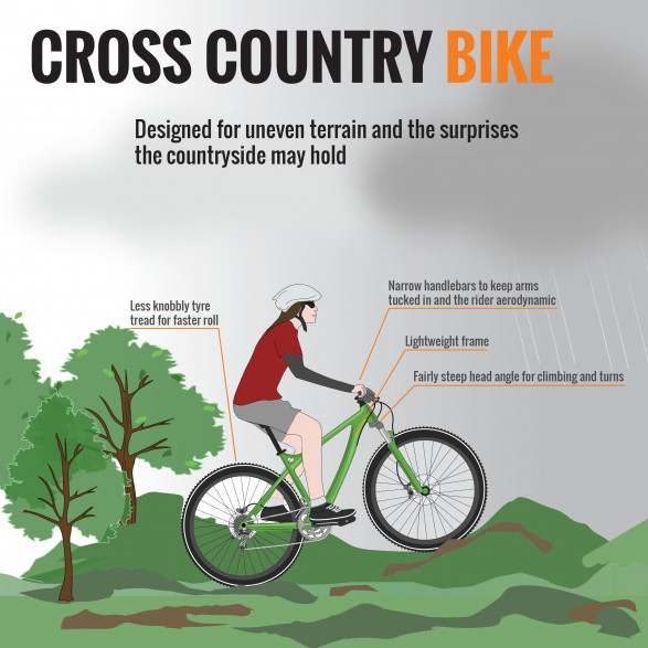 Anatomy of a Bicycle (Part IV) - Cross Country