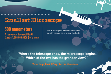 Anatomy Of A Microscope Infographic