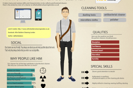 Anatomy of The Perfect Cleaner Infographic