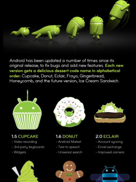 Android: The Story So Far Infographic