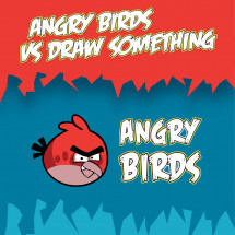 Angry Birds vs. Draw Something Infographic