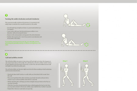 Ankle Stretching and Strengthening Exercises: Occupational Physiotherapy - Physio Med Infographic