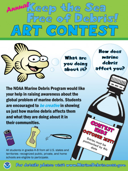 Annual Keep the Sea Free of Debris Art Contest  Infographic