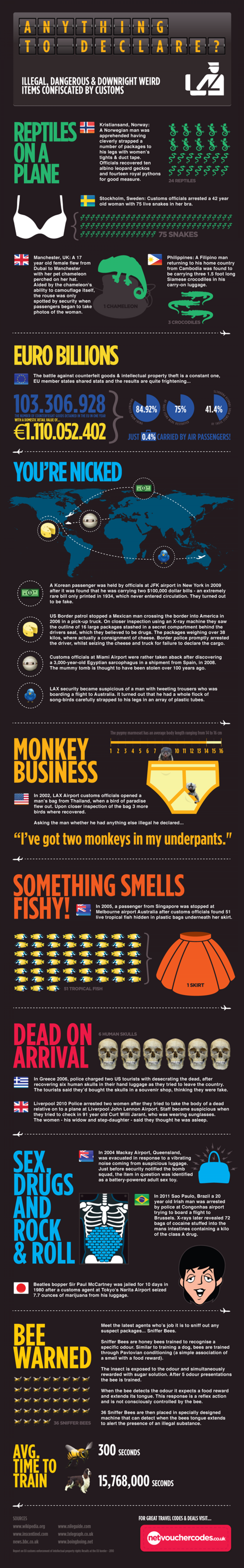 Anything to Declare? Infographic