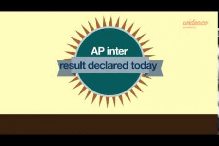 AP Intermediate Results 2014, Andhra Pradesh Intermediate Results 2014 Infographic