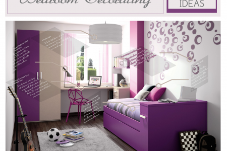 Apartment Bedroom Decorating: 6 Ideas Infographic