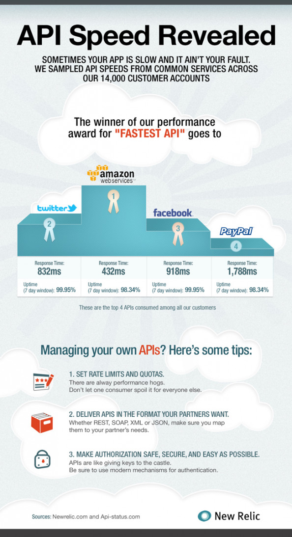 API Speed Revealed Infographic