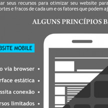 App Mobile vs Website Mobile Infographic