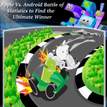 Apple Vs. Android Battle of Statistics to Find the Ultimate Winner INFOGRAPHIC Infographic