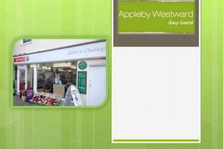 Appleby Westward Group Limited Paris distribution: Ny Gillett Callington Ltd butik Infographic