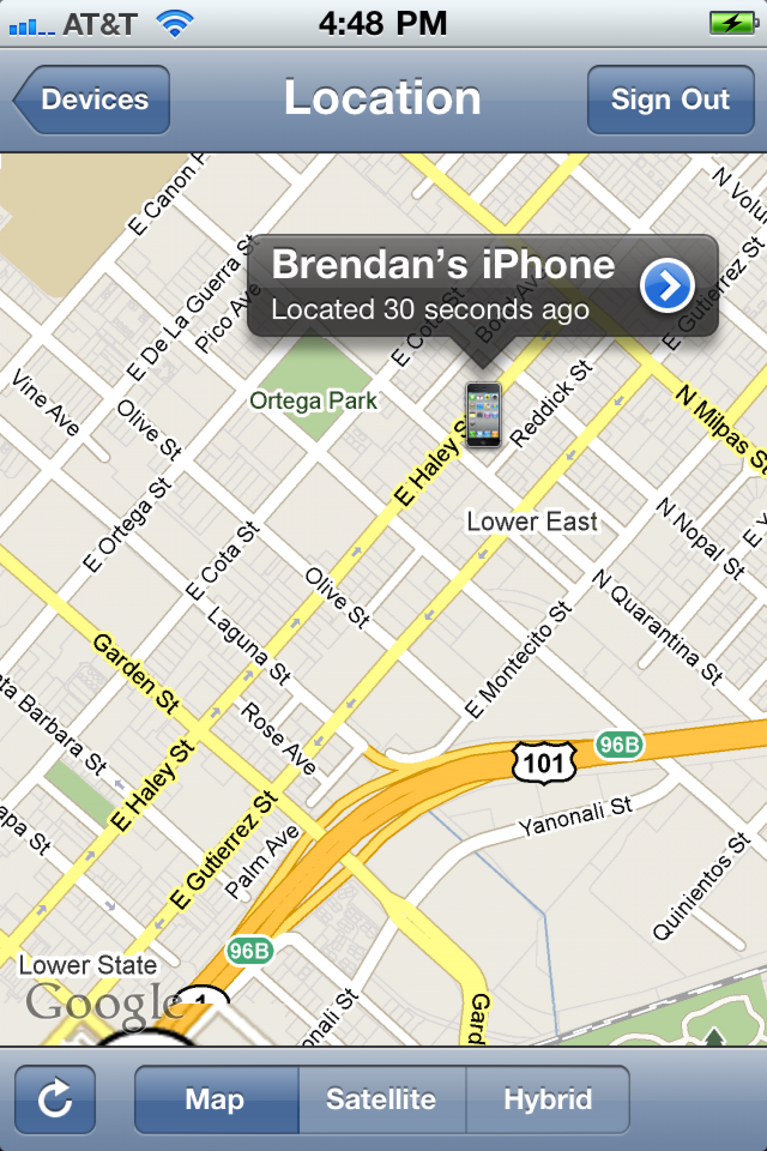 Apple's New 'Find iPhone' Feature Infographic