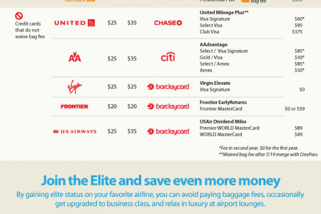 Are Bag Fees Clouding Your Summer Travel Plans? Infographic