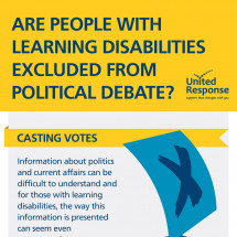 Are people with learning disabilities excluded from political debate? Infographic